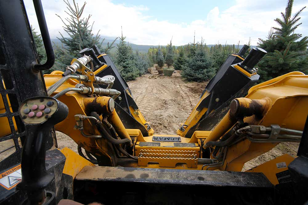 Tree Spades and Tree Handling Equipment by Lemar Tree Spades